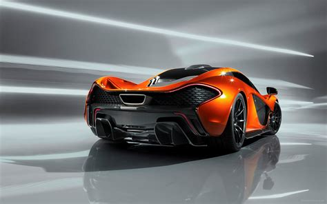 Mclaren P1 Concept 2012 Widescreen Exotic Car Wallpaper