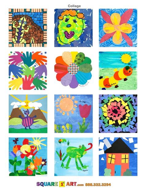 242 best images about preschool collage on 760 | 11569f54e5700bbf5513559ec0a5750d square art art curriculum
