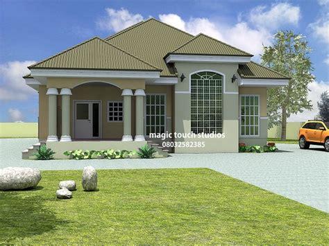 bedroom bungalow house plan  nigeria  bedroom floor plans  bedroom bungalow treesranchcom