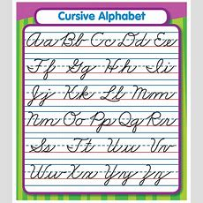 Cursive Alphabet Sticker Pack Grade Pk5  Carsondellosa Publishing