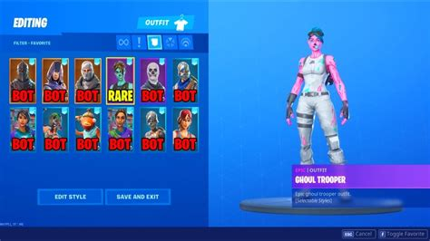 friend   season  pink ghoul trooper account