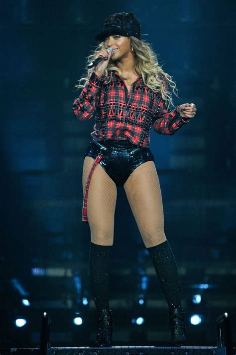 Beyonceu0026#39;s Best Tour Costumes | Beyonce outfits For a reason and Plaid