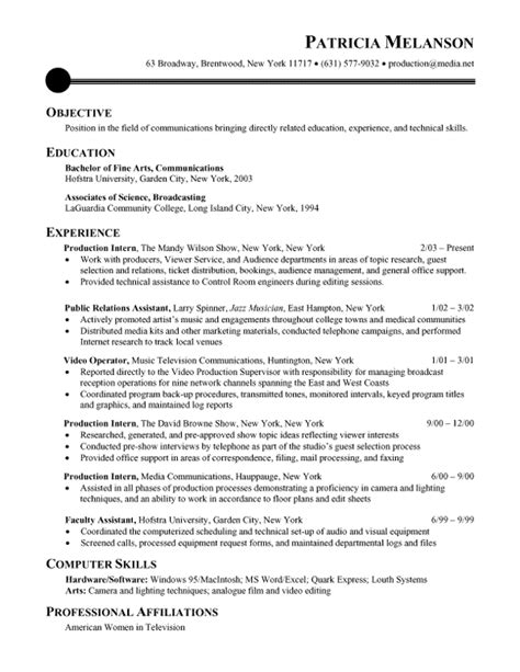 Chronological Resume Builder by Sle Chronological Resumes Resume Vault Resume