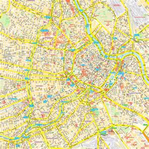 map vienna wien austria maps and directions at map - Design Hotels Wien