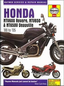 Honda Ntv600 Revere Ntv650 And Nt650v Deauville 1988