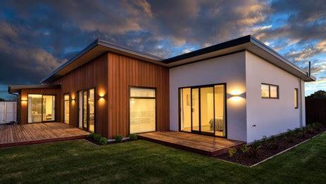contemporary  zealand home designs timbermode