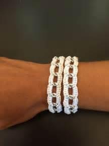 Crochet En S : tuto facile bracelet au crochet youtube pinteres ~ Nature-et-papiers.com Idées de Décoration