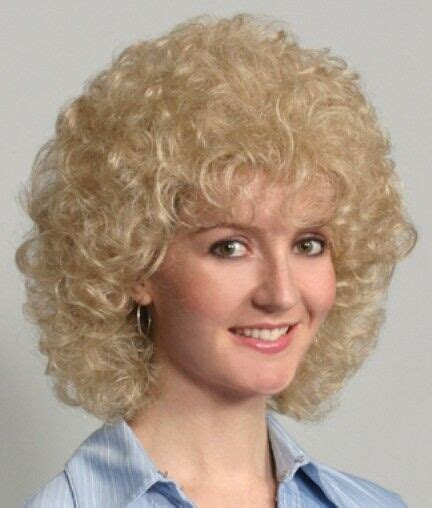 60s Hairstyles For Curly Hair by 60s 70s Womens Length To Collar Soft Curls Curly Wig