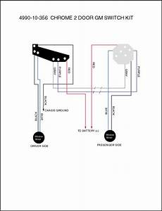 Electric-life Power Window Switch Kits 4990-10-356