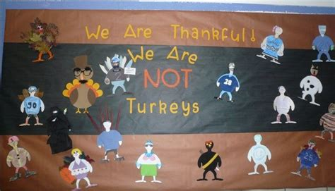 Turkey In Disguise Bulletin Board Template by 25 Best Ideas About Thanksgiving Bulletin Boards On