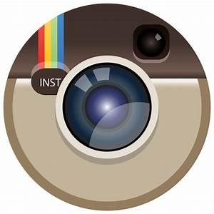 Instagram color icon Circle vector (.eps, .svg) free download