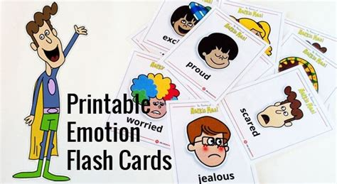 printable napkin emotion flash cards play cbc parents 668 | napkinmancards lead