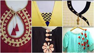 Kurta neck designs cutting and stitching - Simple Craft Ideas