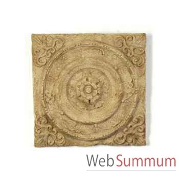 d 233 coration murale mod 232 le rondelle wall plaque surface romaine bs3166ros