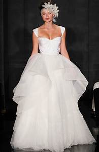 reem acra 2012 wedding dress ballgown peplum onewedcom With reem acra wedding dress