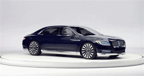 2017 Lincoln Continental Concept by 2015 Lincoln Continental Concept Paves Way For Superlux