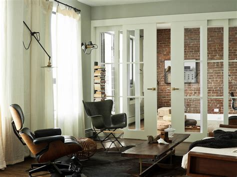 Sliding Interior Doors Family Room Contemporary With Barn