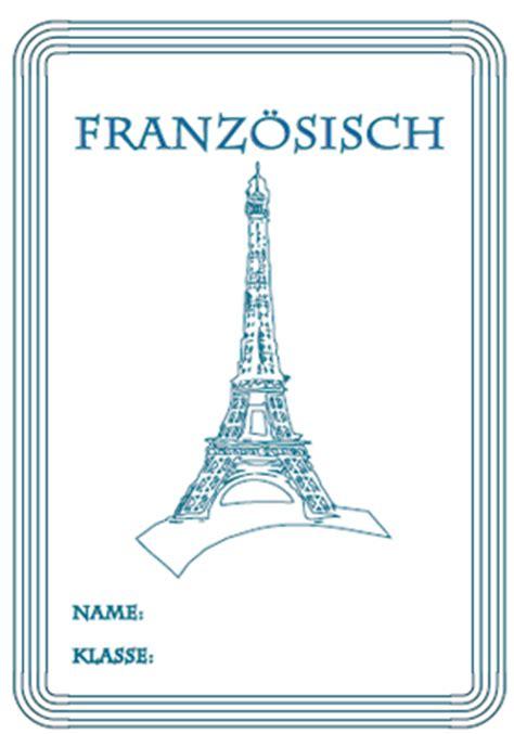 franzoesisch deckblaetter ausdrucken