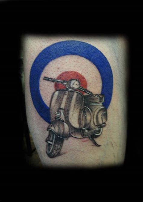 inspiring scooter tattoos