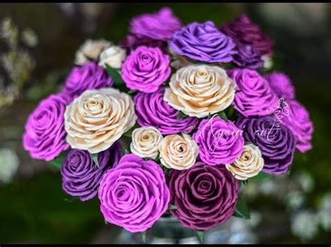 paper roses tutorial youtube