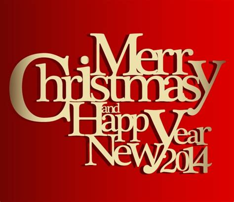 free gold merry christmas poster font style vector titanui