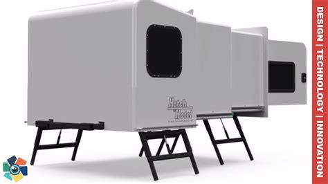 10 Awesome Caravans, Camper Vans And Trailers 2018