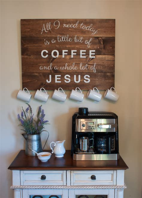 charming coffee station design ideas  starting  day