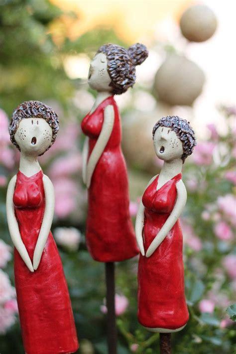 gartenkeramik gardengirls   gartenkeramik ton
