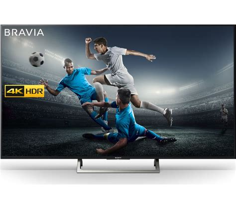tv sony 4k buy sony bravia kd43xe8396 43 quot smart 4k ultra hd hdr led tv free delivery currys