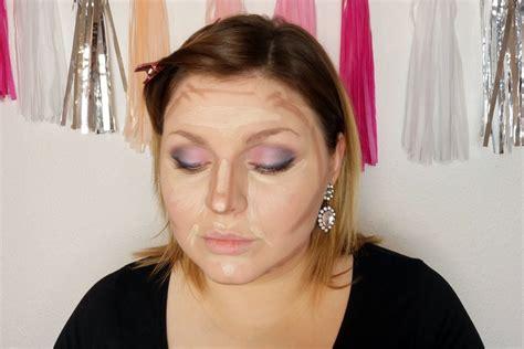 schminken für gesicht konturieren nischue gesicht konturieren gesicht schmaler schminken und konturieren