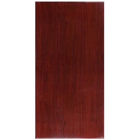 kitchen cabinets laminate 30 x 60 high gloss mahogany resin table top with 2 3060