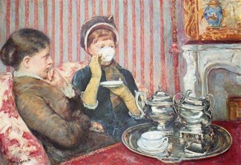 mary cassatt  cup  tea  art print global gallery