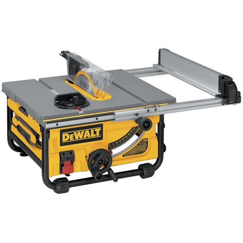 dewalt table saw 15 amp 10 quot compact table saw rip it up with table saw