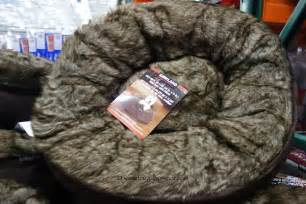 costco kirkland signature pet nest bed with pillow 29 99