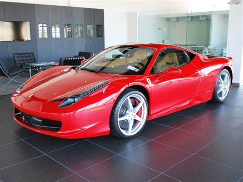 2012 Ferrari 458 Italia  Bentley Long Island Preowned