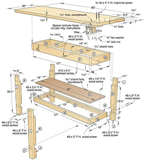 woodworking ija complete traditional workbench