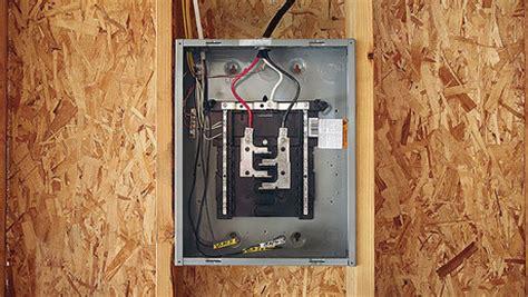 wire  bathroom   code compliant plan fine