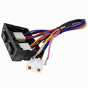 Universal 12v 2 Door Power Window Switch Conversion Kit