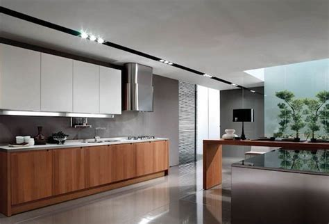 white and brown kitchen cabinets modern kitchen design inspiration with wooden white and Modern