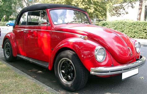 vw käfer cabrio datei volkswagen kaefer cabrio front 20070803 jpg