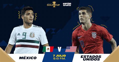 La rivalidad futbolística entre méxico y estados unidos, cuyos encuentros se denominan clásico de concacaf o clásico de norteamérica, es el enfrentamiento de las selecciones de fútbol de ambos países. ¿Cómo, cuándo y dónde ver EN VIVO el México vs Estados Unidos?