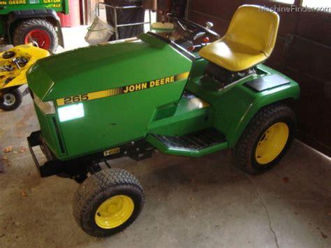 1989 john deere 265 lawn garden and commercial mowing