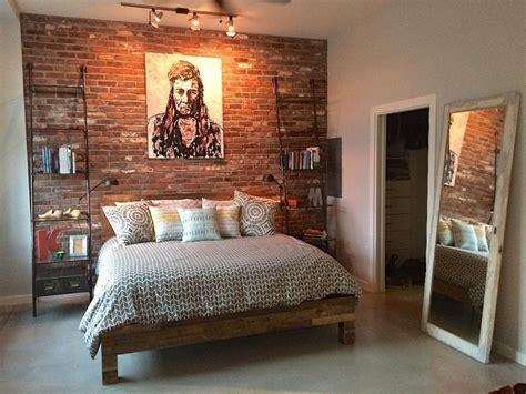reclaimed thin brick veneer  floor tile brick wall bedroom brick bedroom bedroom wall