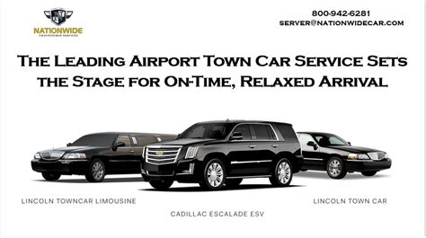 the leading airport town car service sets the stage for on