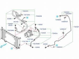 Subaru Outback Pipe Evaporator  Cooling