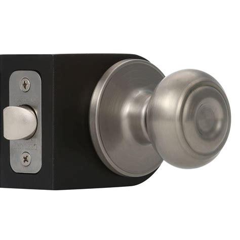 closet door knobs defiant hartford satin nickel passage closet door