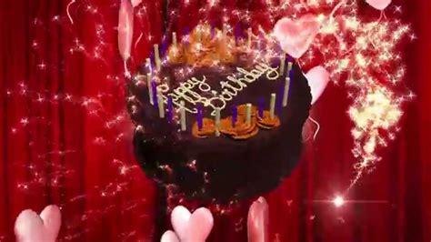 Animated Happy Birthday Wallpaper Free - happy birthday animation 3d hd motion graphics background