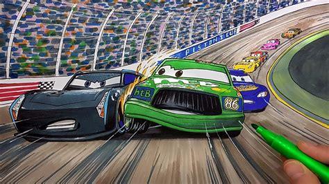 Draw Chick Hicks Vs Jackson Storm Cars 3 2.0 Step By Step