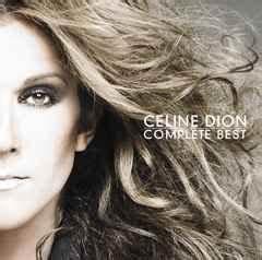 2007 Pop Charts Complete Best Celine Dion Album Wikipedia