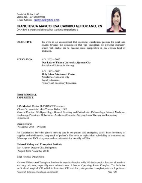 resume  quitoriano franchesca marcohssa  page